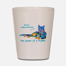 Purr Kitty Shot Glass