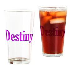 Destiny Drinking Glass
