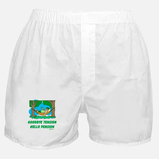 Hello Pension Boomer Boxer Shorts