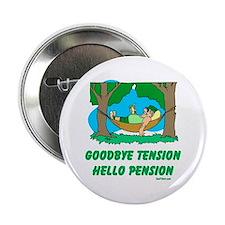 """Hello Pension Boomer 2.25"""" Button"""