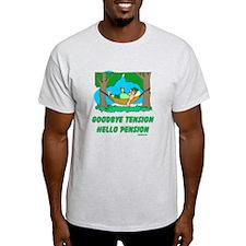Hello Pension Boomer T-Shirt