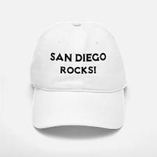San Diego Rocks! Baseball Baseball Cap