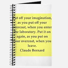 claude bernard quotes Journal