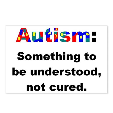 Understand Autistics Postcards (Package of 8)