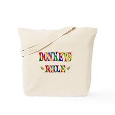 DONKEYS RULE Tote Bag