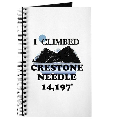 I Climbed CRESTONE NEEDLE t-s Journal