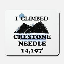 I Climbed CRESTONE NEEDLE t-s Mousepad