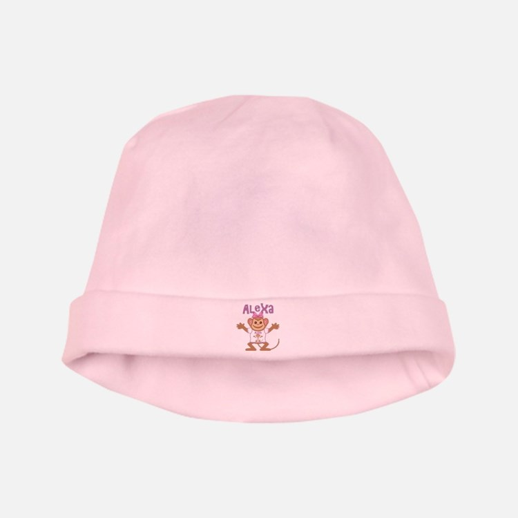 Little Monkey Alexa baby hat