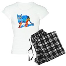 Whimsical Kitty Cat Gifts Pajamas