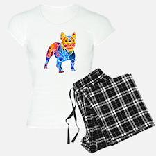 Whimsical French Bulldog Pajamas