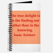Isaac Asimov quotes Journal