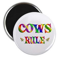 """COWS RULE 2.25"""" Magnet (10 pack)"""