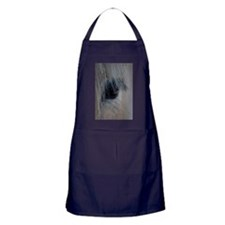 Cute Norwegian fjord horse Apron (dark)