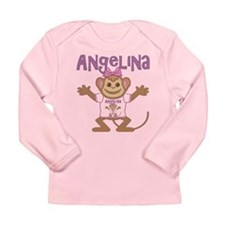 Little Monkey Angelina Long Sleeve Infant T-Shirt