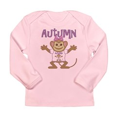 Little Monkey Autumn Long Sleeve Infant T-Shirt