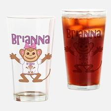 Little Monkey Brianna Drinking Glass