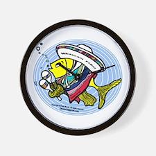 Mexican Fish Wall Clock
