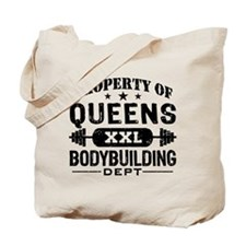Property of Queens Bodybuilding Tote Bag