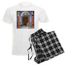 King Solomon's Temple Pajamas