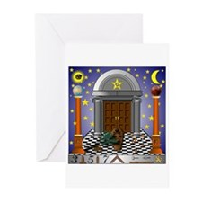King Solomon's Temple Greeting Cards (Pk of 10)