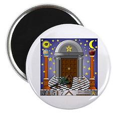 King Solomon's Temple Magnet