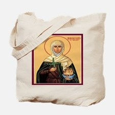 St. Brigid of Ireland Tote Bag