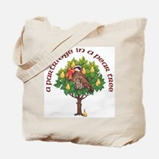 A Partride in a Pear Tree Tote Bag