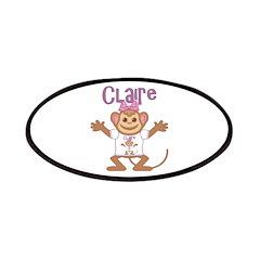 Little Monkey Claire Patches