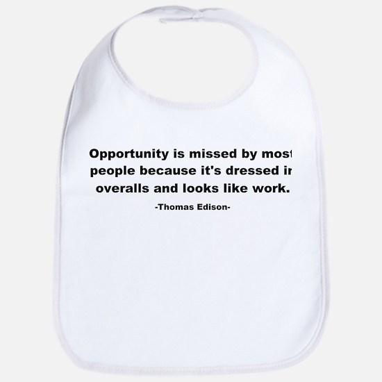 Opportunity is missed Thomas Bib