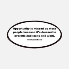 Opportunity is missed Thomas Patches
