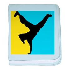 Breakdance baby blanket