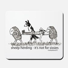 Sheep Herding Mousepad