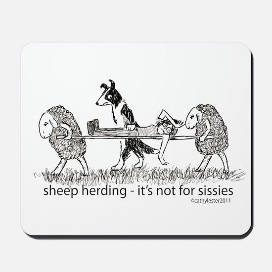 Sheep Herding Mousepad