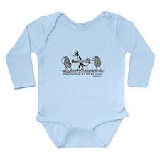 Sheep Herding Long Sleeve Infant Bodysuit