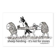 Sheep Herding Postcards (Package of 8)