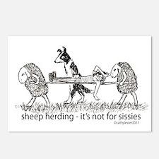 Sheep Herding Postcards (Package of 8)
