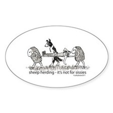Sheep Herding Decal