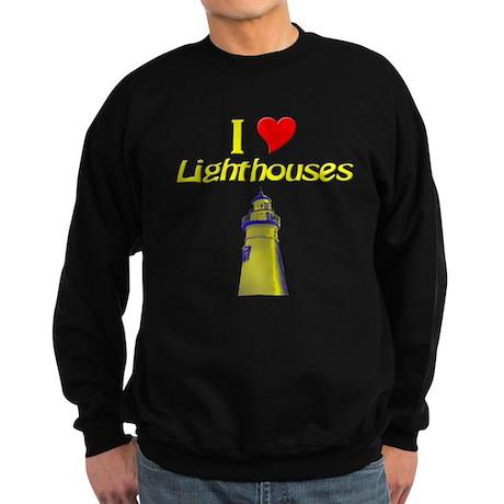 I love Lighthouses Sweatshirt (dark)