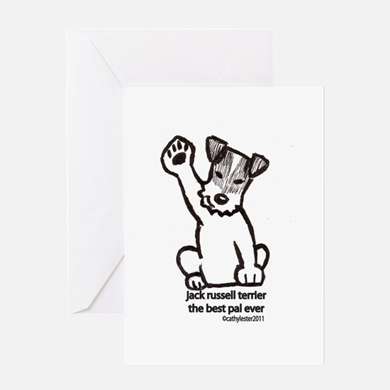 Jack Russell Terrier Pal Greeting Card