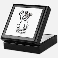 Jack Russell Terrier Pal Keepsake Box