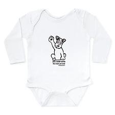 Jack Russell Terrier Pal Long Sleeve Infant Bodysu