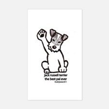 Jack Russell Terrier Pal Decal