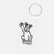 Jack Russell Greeting Keychains