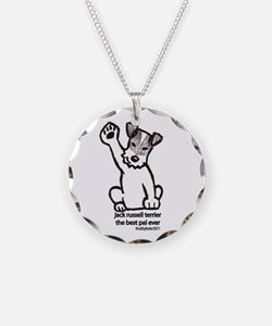 Jack Russell Greeting Necklace