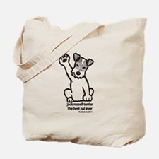 Jack Russell Greeting Tote Bag