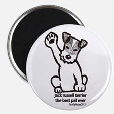 Jack Russell Greeting Magnet