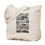 Bull Riding Gift Tote Bag