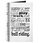Bull Riding Gift Journal