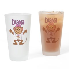 Little Monkey Diana Drinking Glass