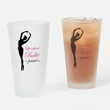 Ballet Drinking Glass